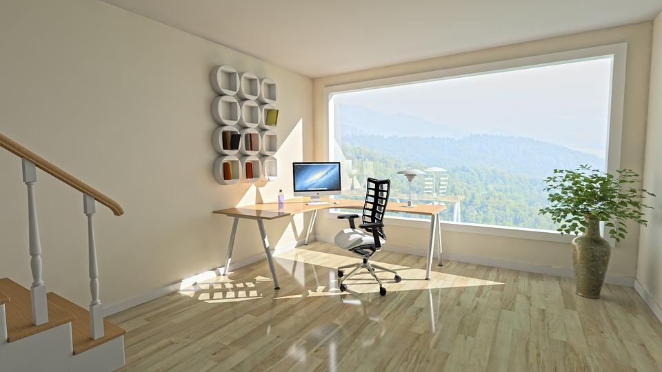 Hyggeligt kontor